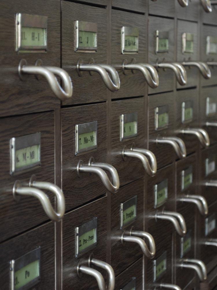 Interior de un archivo